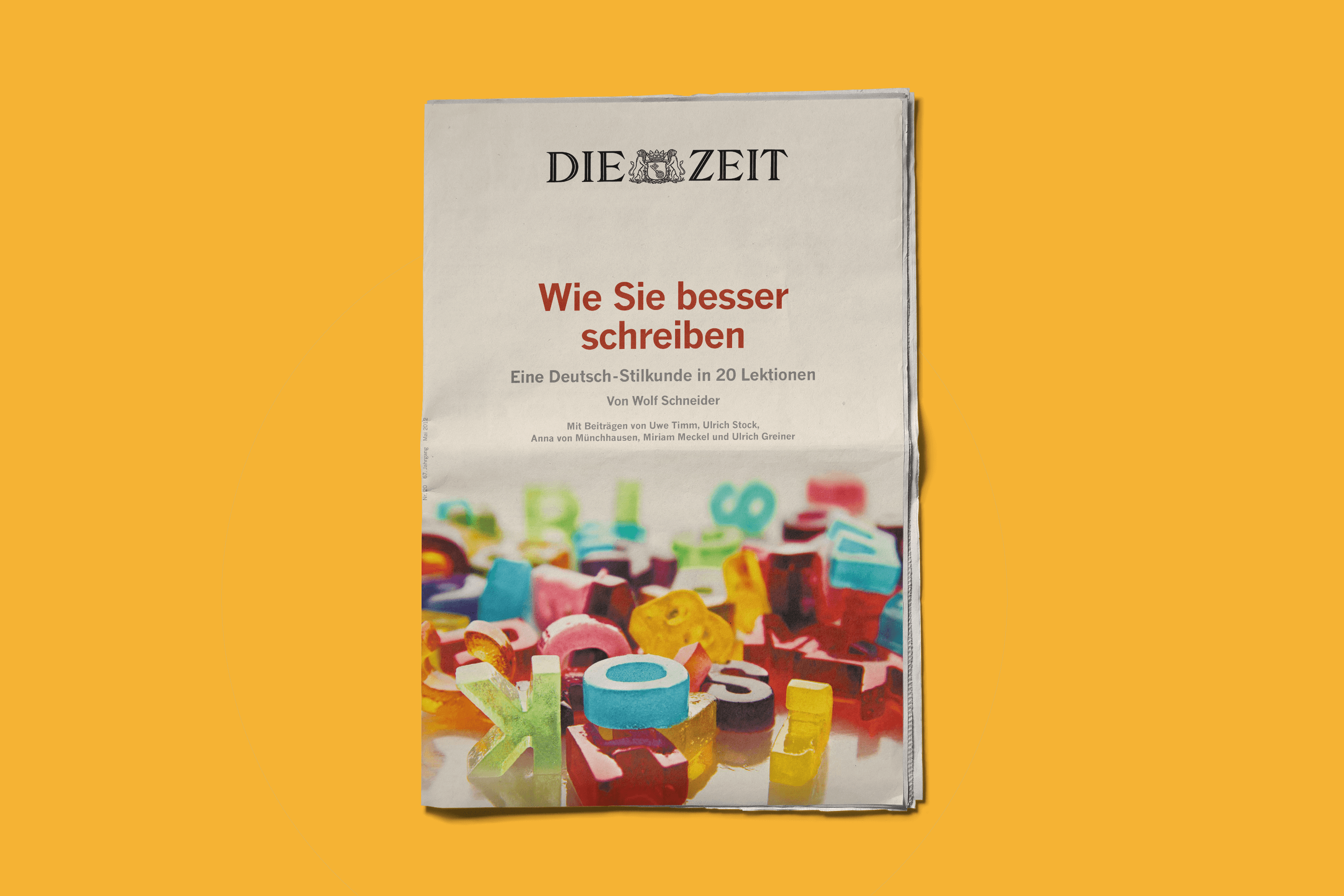 Die Zeit Cover Newspaper